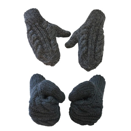 Alpaca Mittens Luca for Women & Men & Unisex, one size | AlpacaOne