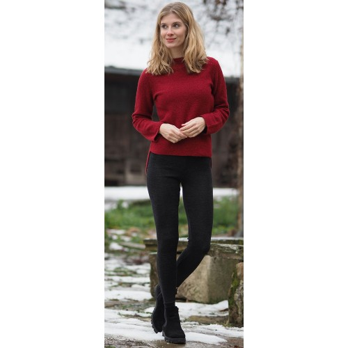 Reiff Knitted Leggings, Eco Merino Wool - Made in Germany