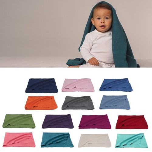 Baby blanket organic merino wool | Reiff