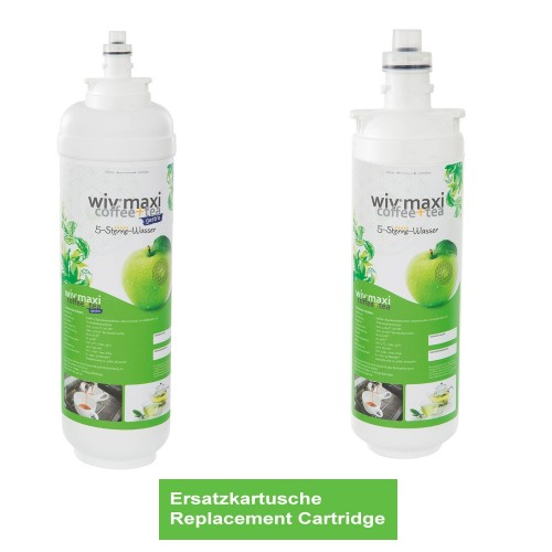 Replacement Cartridge wiv® Maxi Coffee & Tea Water Filter