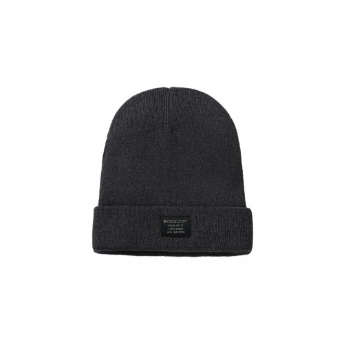 Knit Beanie Classic anthracite organic cotton | recolution