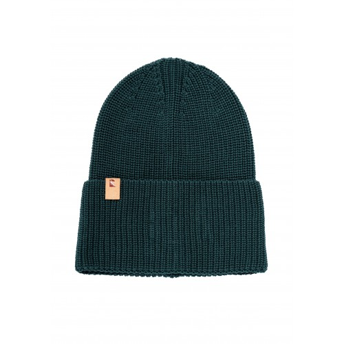 Unisex Knit Beanie Hat Classic eucalyptus, organic cotton | recolution