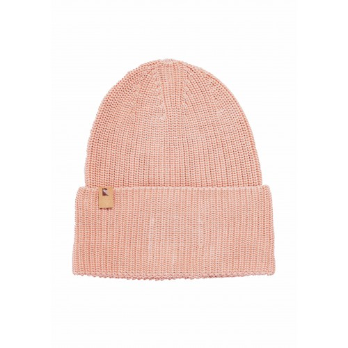 Knit Beanie Classic rose, organic cotton | recolution