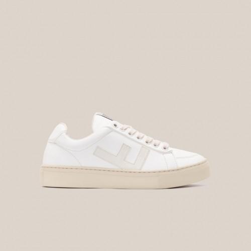 Flamingos Life Men's Sneakers vegan CLASSIC 70´s all-white-grey