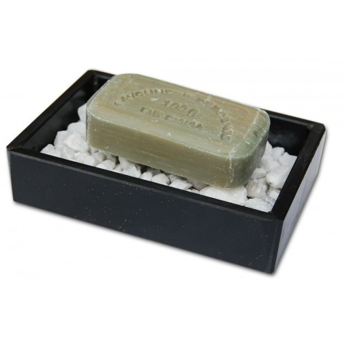 Soap Dish STONEBASE made of Slate & Gravel Bed | D.O.M.