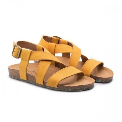 Sustainable Sandals SAND mustard » Zouri