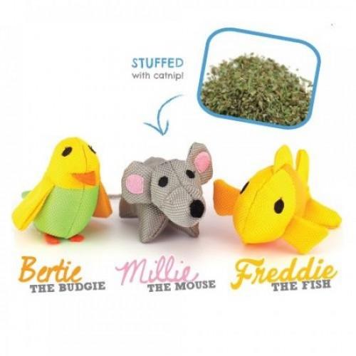 Maus, Fisch & Wellensittich | Beco Familie für Katzen