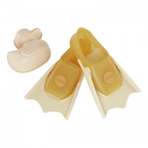 Hevea Baby Fins & Sand Shaper upcycled natural rubber