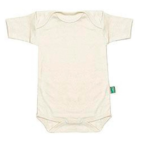 Short-Sleeved Baby Bodysuit – Organic Cotton | Lotties