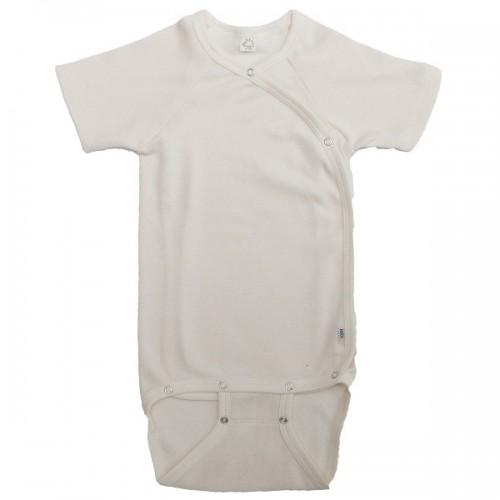 Organic Kimono Bodysuit short-sleeved | Popolino iobio