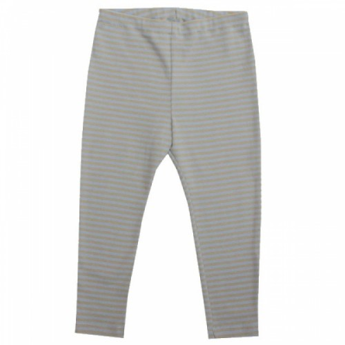 Long Johns for boys - blau-sandy organic cotton | iobio