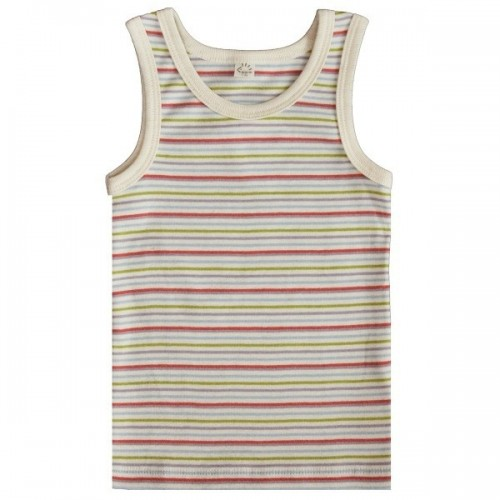 Popolini Iobio Undershirt GOTS multicolor