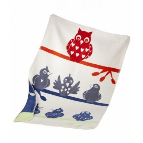 ASMi Baby Blanket Organic Cotton Owl
