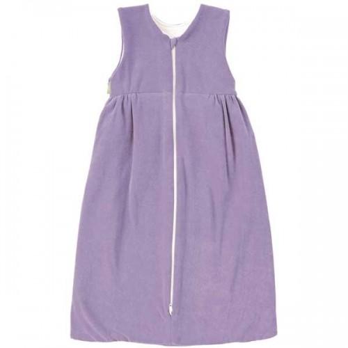 Plush Organic Cotton Sleeping Bag purple