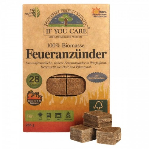 If You Care Firelighters Wood + Vegetable Oil