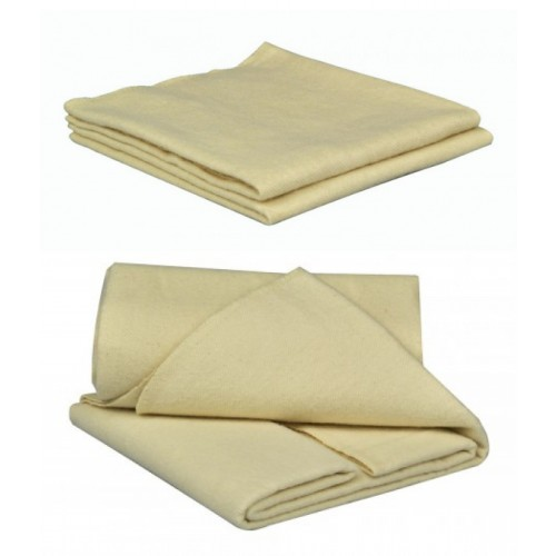 Unbleached Molton Cloth made of GOTS organic cotton