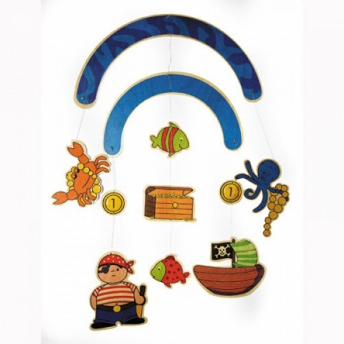 Hess Wooden Mobile Pirate