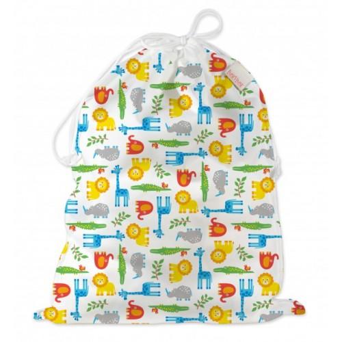 Wet Bag with Drawstring – Wildlife