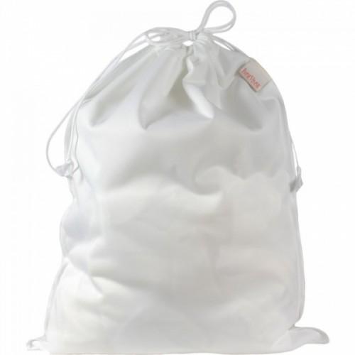 ImseVimse Wet Bag Laundry Bag Diaper Bag – white