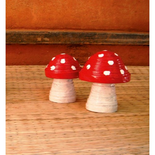 Decorative Fly Agaric from Recycled Paper