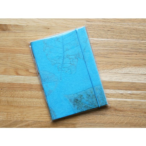 Fancy Notebook – Sketchbook – Turquoise Eco Paper