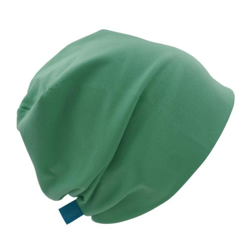 Organic Cotton Beanie Hat 'Line' - various green tones | bingabonga