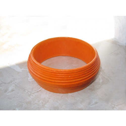Armlet – Bracelet ORANGE Eco Paper Ø 6,5 cm