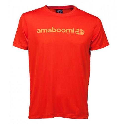 Men T-Shirt DALLOL 100% recycled – Magma Red