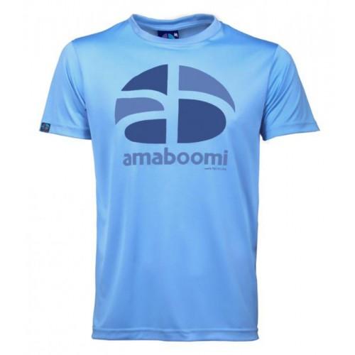 Men T-Shirt HUAGAPO 100% recycled – Azur Blue
