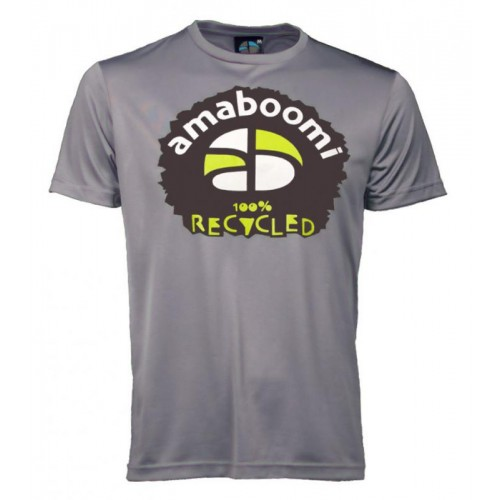 Men T-Shirt MERAPI 100% recycled – Ash Grey