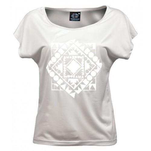 Women T-Shirt CHACHACOMANI 100% recycled – White