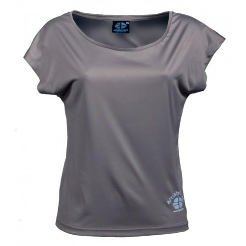 Women T-Shirt KAILASH 100% recycled – Ashgrey