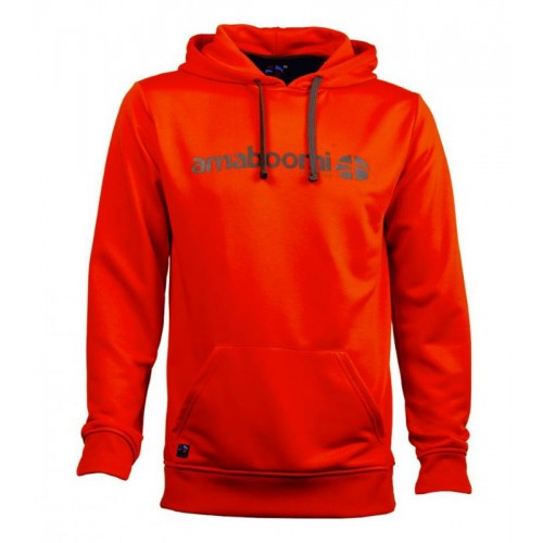 Men Hoodie PITCH 100% recycled – Magma Red