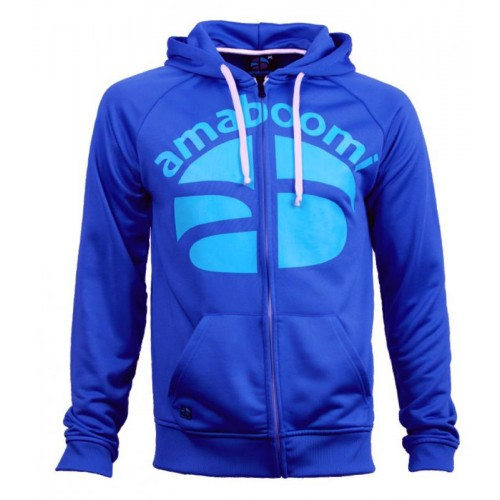 Men Zipped Hoodie NOATAK 100% Recycled - Blue