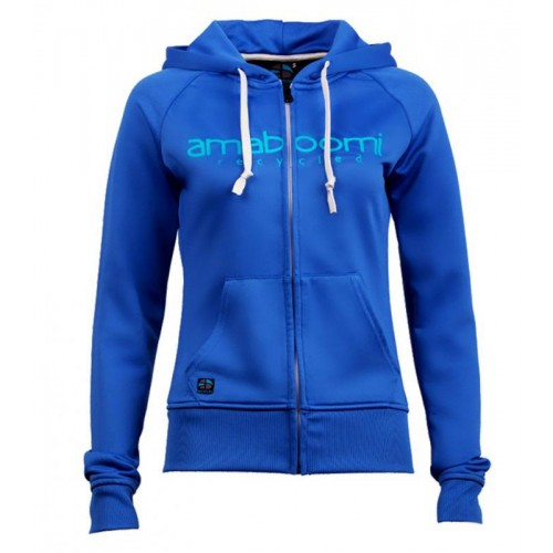 Women Zipped Hoodie MALASPINA 100% Recycled – Blue