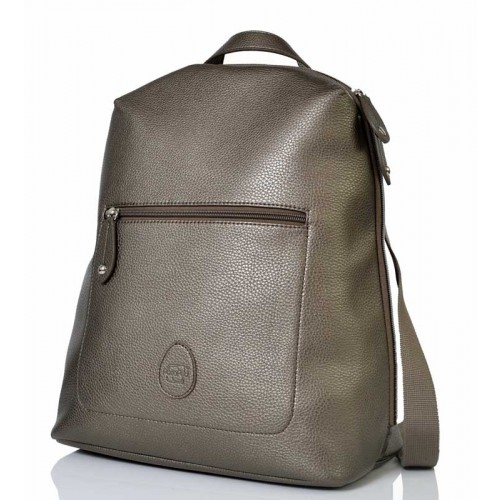 PacaPod Hartland Gunmetal - Backpack & Eco Changing Bag