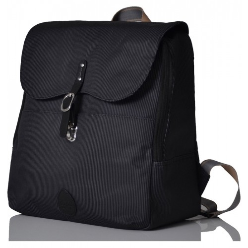 PacaPod Hastings Black Eco Nappy Bag & Messenger Bag