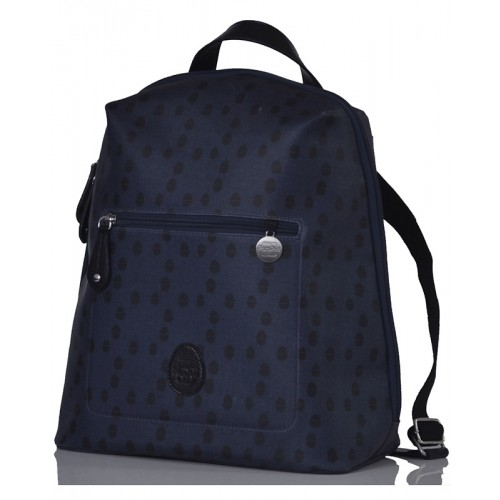 Changing Bag in Backpack-Style Hartland Navy Acorn | PacaPod