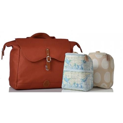 PacaPod Nelson Copper Changing Bag & Backpack & Messenger Bag