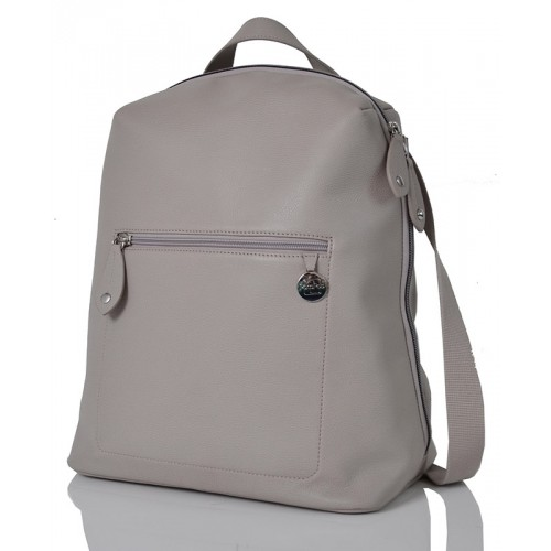 PacaPod Hartland Elephant - Leather Backpack & Changing Bag