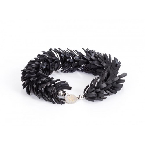 A5/S Bracelet Upcycling Bicyle Inner Tube