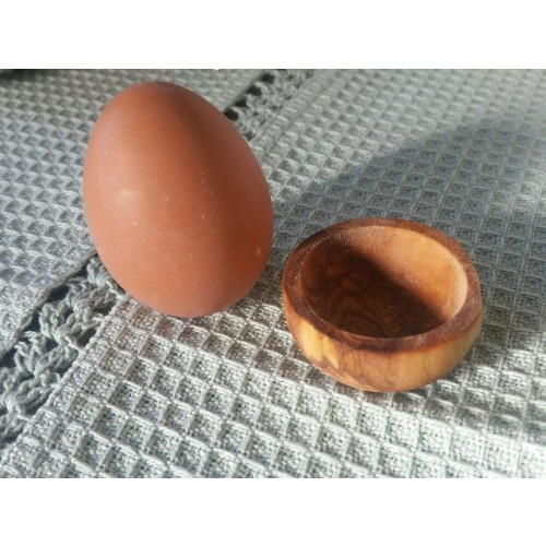 Olive Wood Egg Cup PICCOLO | D.O.M.