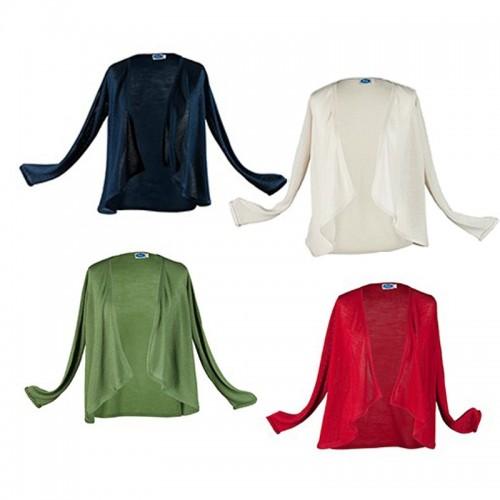 Eco Cardigan Organic Wool/Silk Carmen | Reiff