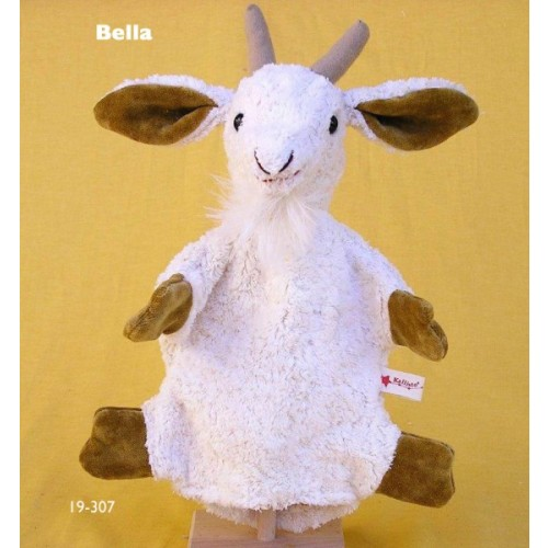 Hand Puppet Goat Bella organic cotton of Kallisto