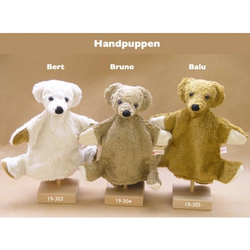 Hand Puppet Bear of Kallisto different colours