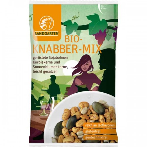 Organic Nibbles Mix – vegan by Landgarten