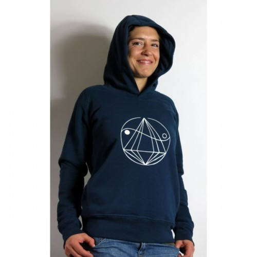 Women Hoodie of organic cotton - Weltenbirke | Diamond Army