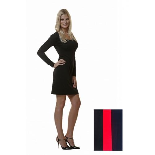 Organic Jersey Dress with Round Neckline