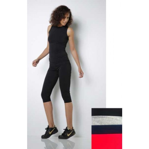 Sports Trouser Yoga Pants 3/4 Length Organic Cotton