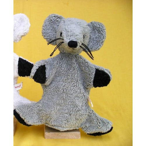 Hand Puppet Mouse Fred organic cotton of Kallisto